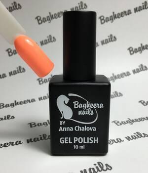 BN-21, Светло-оранжевый лосось Гель-лак BAGHEERA NAILS right