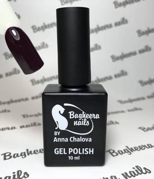BN-43, Тёмно-бордовый, тёмная черешня Гель-лак BAGHEERA NAILS