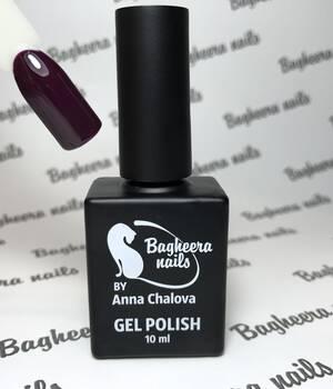 BN-45, Красно-фиолетовый, темная слива Гель-лак