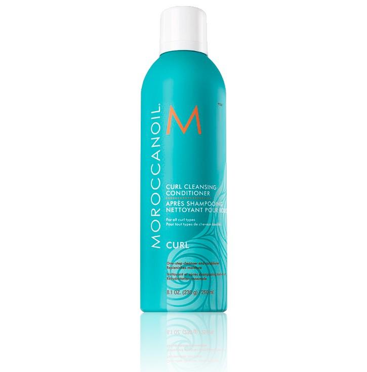Очищающий кондиционер для вьющихся волос Moroccanoil