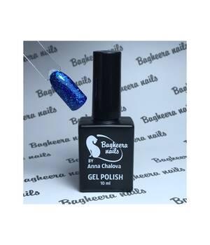 BN-71, Гель-лак эффект фольги, цвет синий