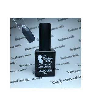 BN-92,тёмно-серый Гель-лак BAGHEERA NAILS new