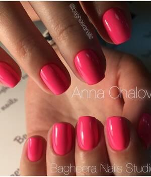 BN-15, неоновый розовый Гель-лак front