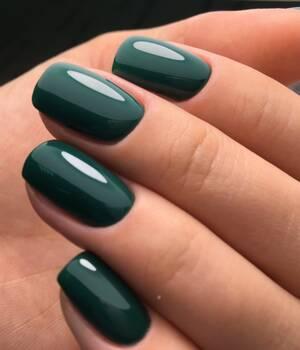 BN-13, Благородный зеленый Гель-лак BAGHEERA NAILS