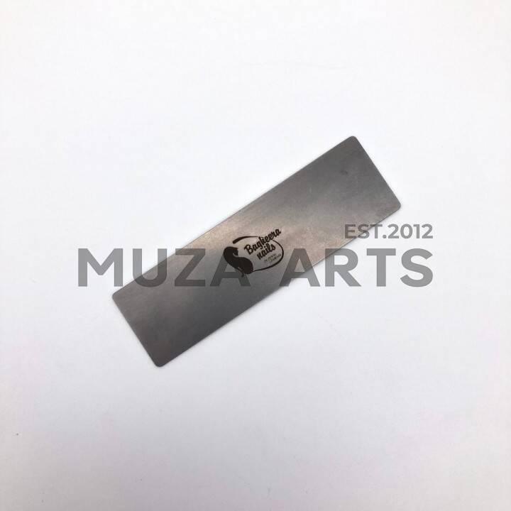 "BP-06, Пилочка-основа BAGHEERA NAILS ""баф"" металл, 10см"