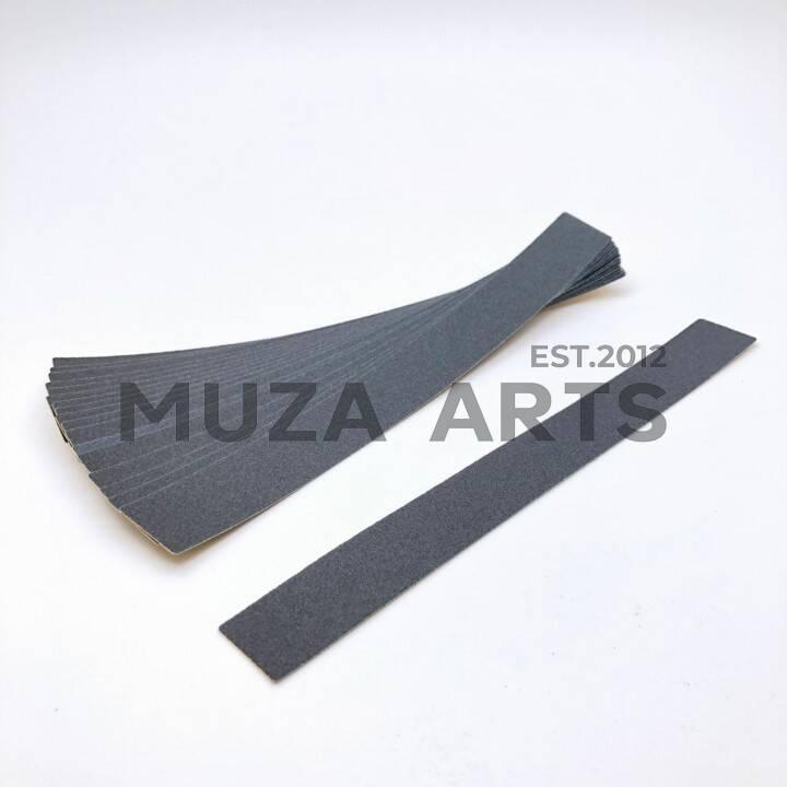"""BSK-04, Сменные картриджи BAGHEERA NAILS """"длинная"""" 240 грит 50 шт чёрный, 16см"""